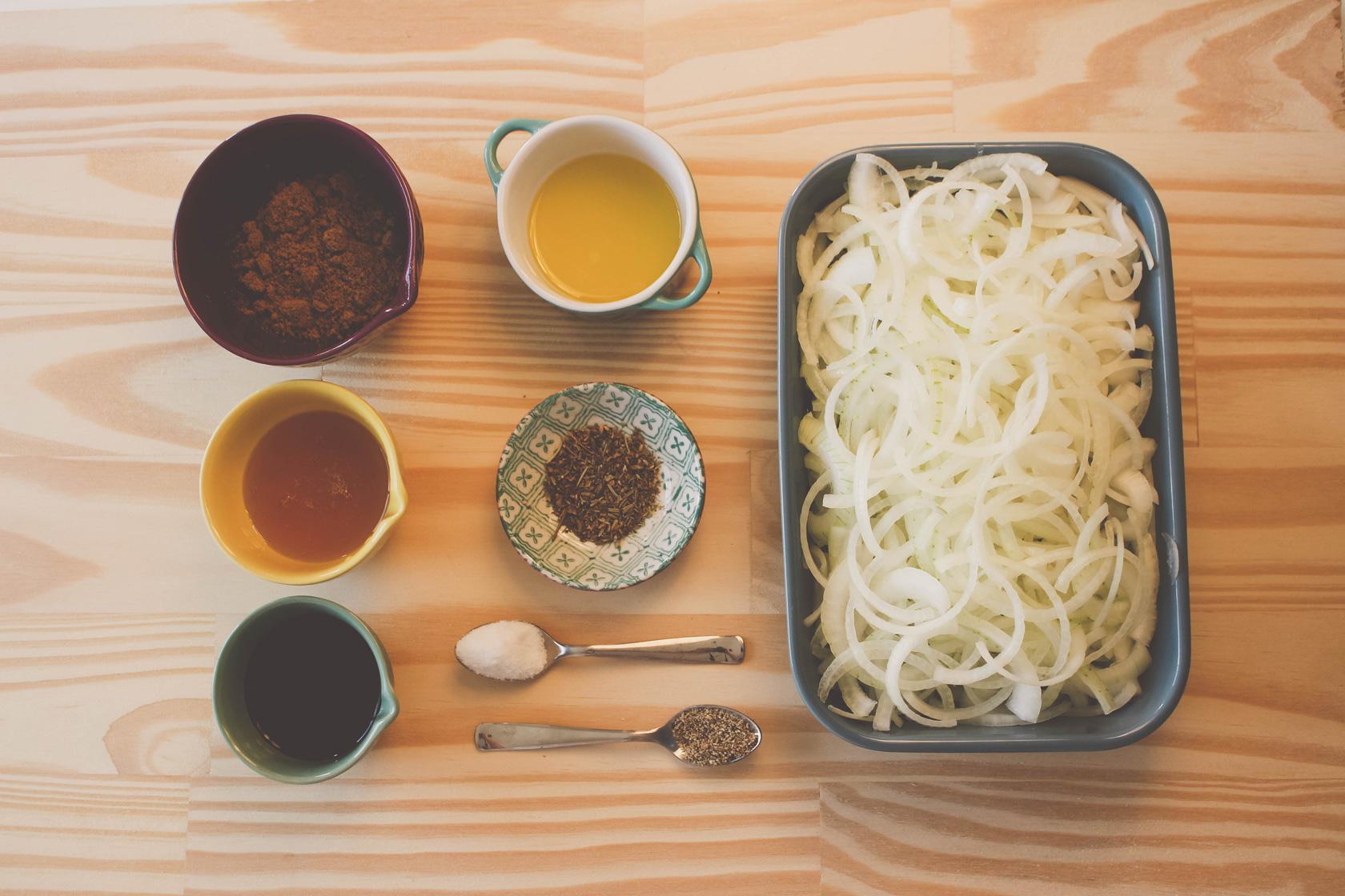 Ingredintes Confit de cebola