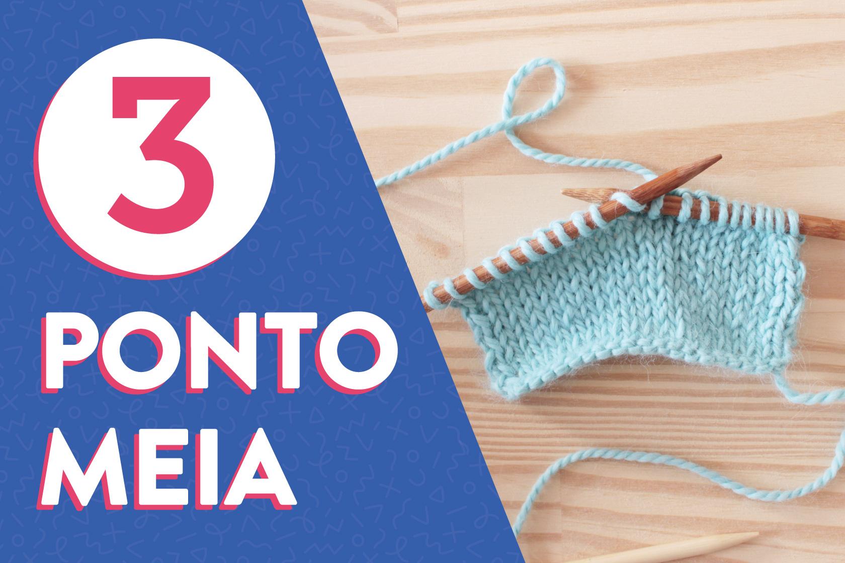 e564a2d399350 Como tricotar o ponto meia